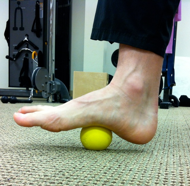 soft tissue work for foot and ankle