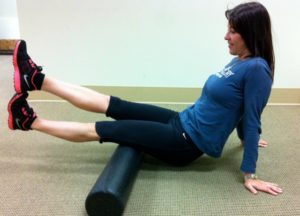 soft tissue work with foam roller