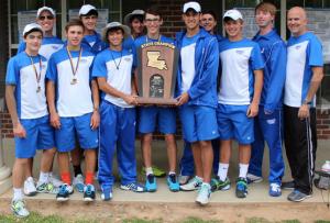 2014 Jesuit Tennis State Champions