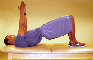 Bridges Exercise to strengthen muscle