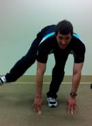 Running exercise -Low skater 3