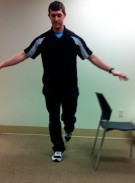 Running Exercise Single Leg Squat