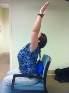 Back pain exercise
